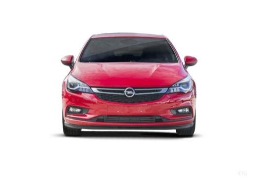 OPEL Astra V I hatchback czerwony jasny przedni