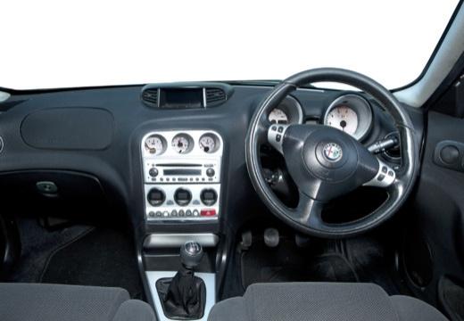 ALFA ROMEO 156 Sportwagon II kombi czerwony jasny tablica rozdzielcza