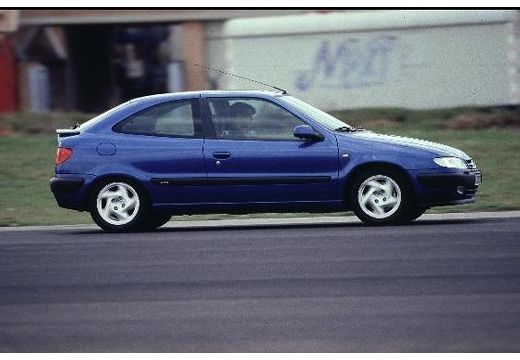CITROEN Xsara I hatchback niebieski jasny boczny prawy
