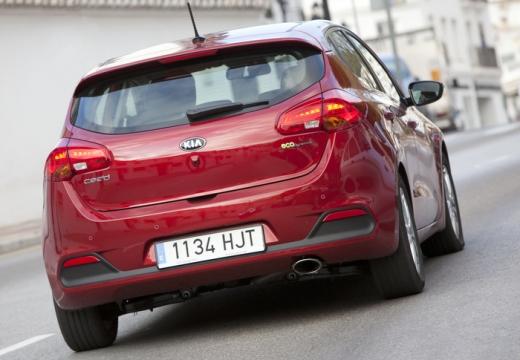 KIA Ceed III hatchback czerwony jasny tylny prawy