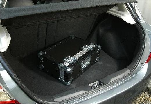 HONDA Civic V hatchback silver grey przestrzeń załadunkowa