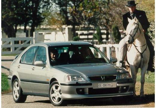 HONDA Civic III hatchback silver grey przedni prawy
