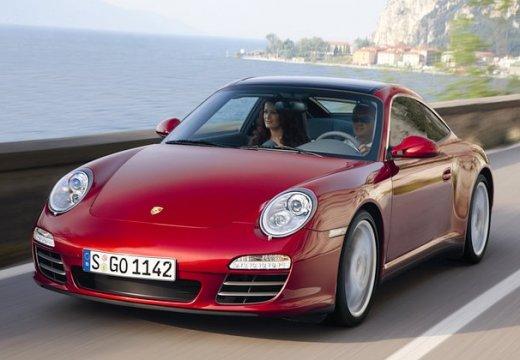 PORSCHE 911 997 coupe czerwony jasny przedni lewy