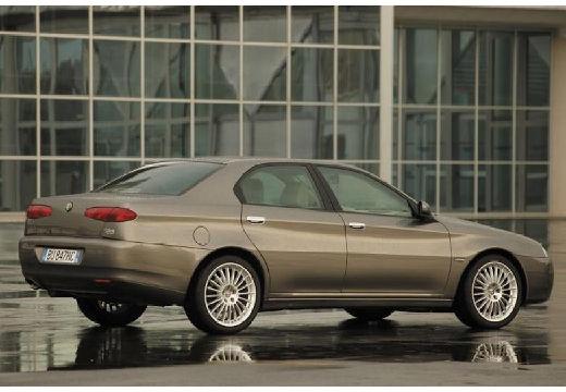 ALFA ROMEO 166 FL sedan szary ciemny tylny prawy