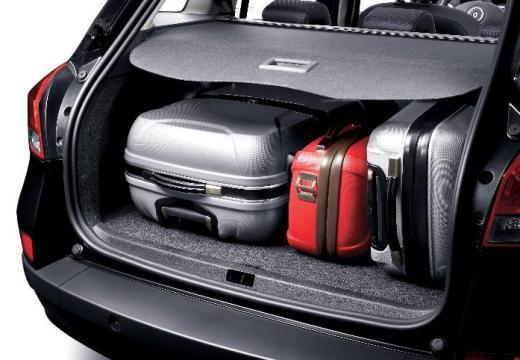 RENAULT Clio III Grandtour I kombi czarny przestrzeń załadunkowa