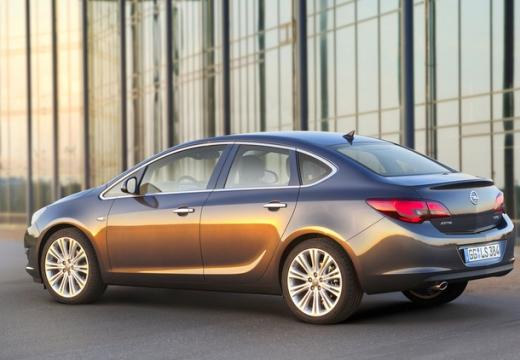 OPEL Astra IV sedan silver grey tylny lewy