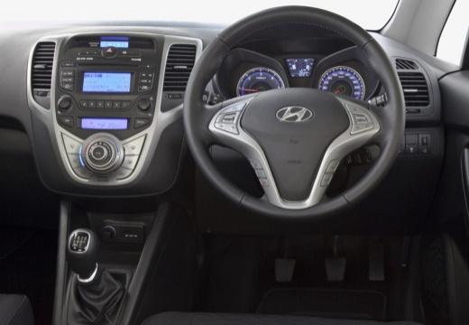 HYUNDAI ix20 I hatchback szary ciemny tablica rozdzielcza