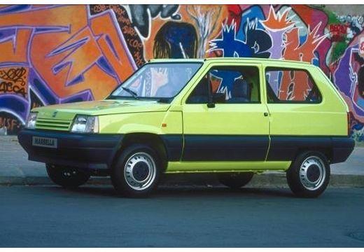 SEAT Marbella hatchback żółty przedni lewy