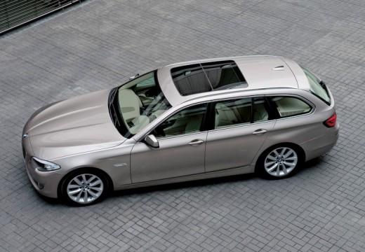 BMW Seria 5 Touring F11 I kombi silver grey przedni lewy