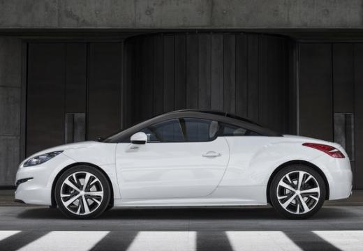 PEUGEOT RCZ coupe biały boczny lewy