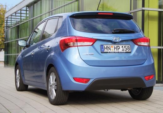 HYUNDAI ix20 I hatchback niebieski jasny tylny lewy