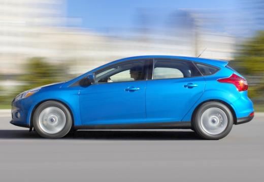 FORD Focus V hatchback niebieski jasny boczny lewy