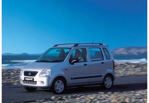 SUZUKI Wagon R+ I hatchback silver grey przedni lewy
