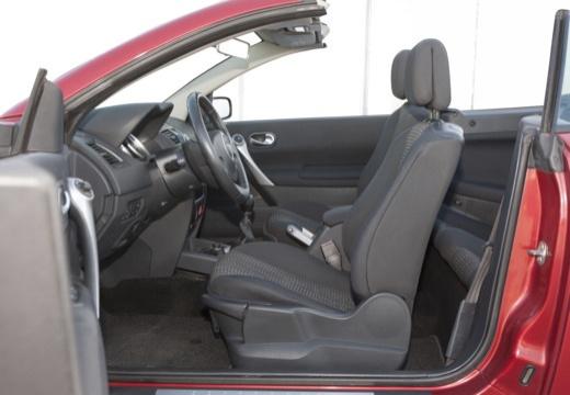 RENAULT Megane II CC kabriolet wnętrze