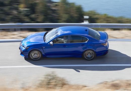LEXUS GS V sedan niebieski jasny boczny lewy