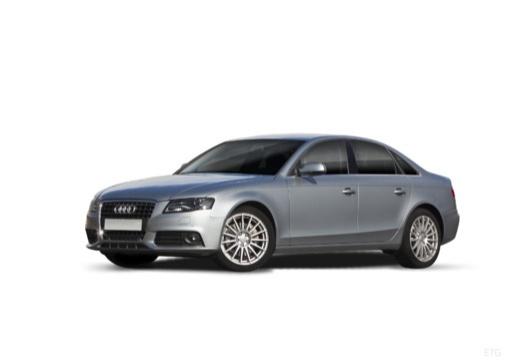 AUDI A4 B8 I sedan silver grey
