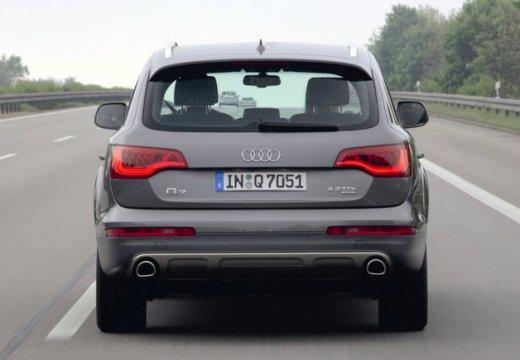 AUDI Q7 II kombi silver grey tylny