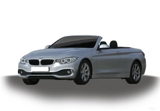 BMW Seria 4 Cabrio F33 kabriolet silver grey