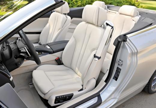 BMW Seria 6 Cabriolet F12 I kabriolet wnętrze