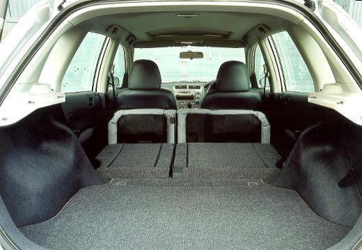 HONDA Civic IV hatchback silver grey przestrzeń załadunkowa