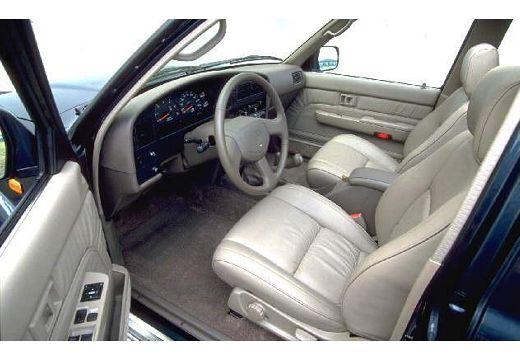 Toyota 4Runner kombi wnętrze