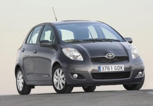Toyota Yaris IV hatchback silver grey przedni prawy