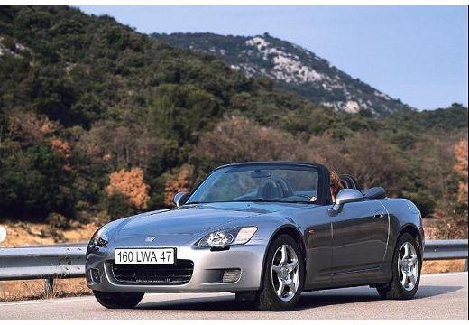 HONDA S 2000 roadster silver grey przedni lewy