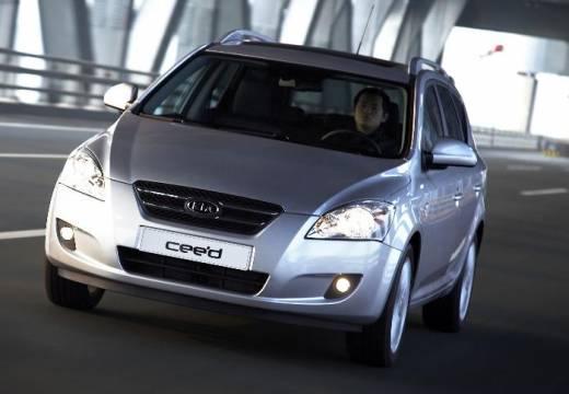 KIA Ceed Sporty Wagon I kombi silver grey przedni lewy