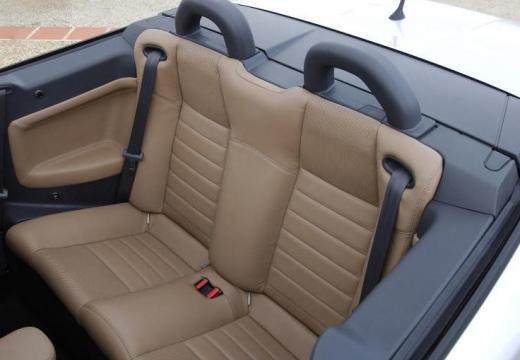 RENAULT Megane II CC kabriolet silver grey wnętrze