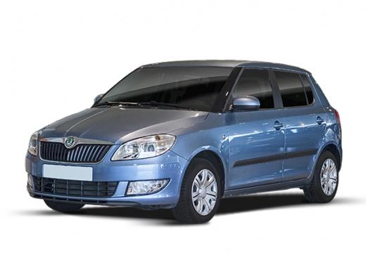 SKODA Fabia II II hatchback niebieski jasny