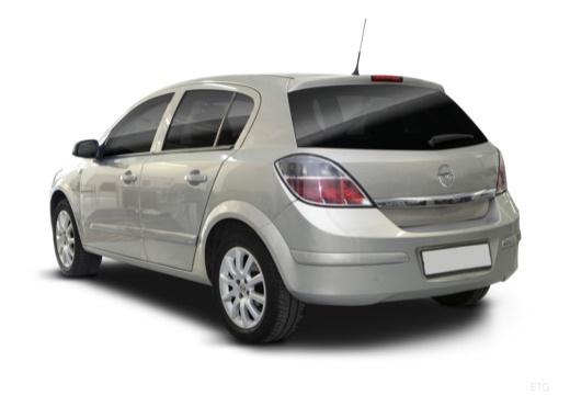 OPEL Astra III II hatchback silver grey tylny lewy