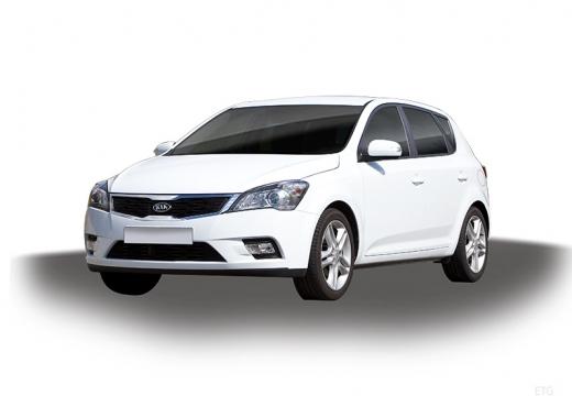 KIA Ceed II hatchback biały