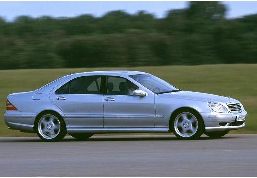 MERCEDES-BENZ Klasa S W 220 I sedan silver grey przedni prawy
