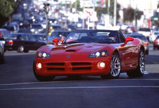 DODGE Viper Roadster III coupe czerwony jasny przedni lewy