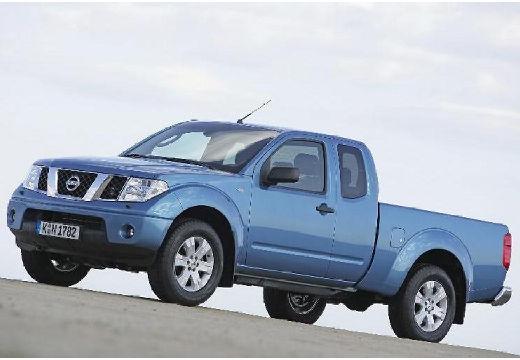 NISSAN Navara I pickup niebieski jasny przedni lewy