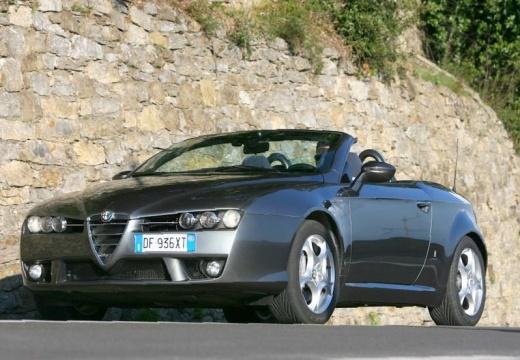 ALFA ROMEO Spider V kabriolet silver grey