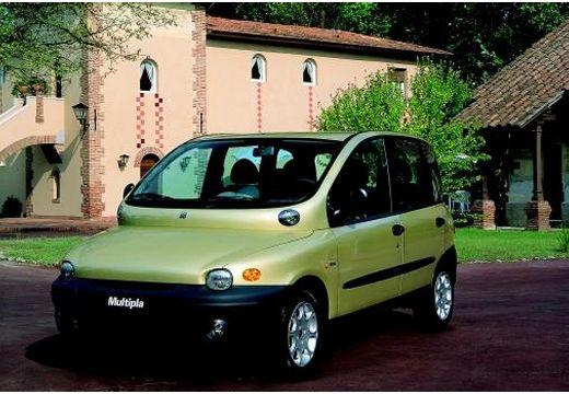FIAT Multipla kombi żółty przedni lewy