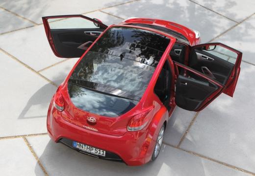 HYUNDAI Veloster I coupe czerwony jasny tylny prawy
