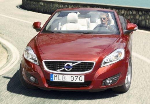 VOLVO C70 Cabrio III kabriolet czerwony jasny przedni