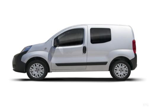 FIAT Fiorino kombi silver grey boczny lewy
