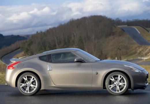 NISSAN 370 Z I coupe silver grey boczny prawy
