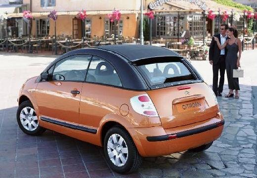 CITROEN C3 Pluriel hatchback pomarańczowy tylny lewy