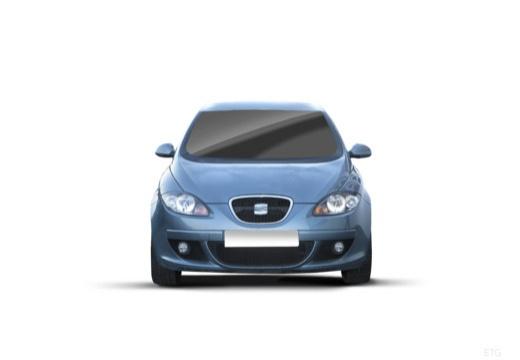 SEAT Altea I hatchback niebieski jasny przedni