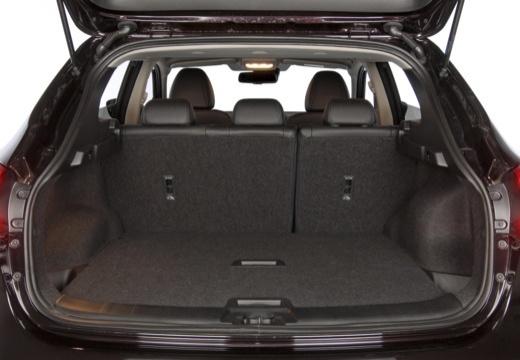 NISSAN Qashqai III hatchback przestrzeń załadunkowa