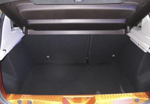 DACIA Sandero III hatchback przestrzeń załadunkowa