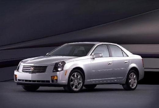 CADILLAC CTS sedan silver grey przedni lewy