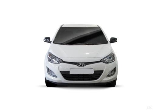 HYUNDAI i20 II hatchback biały przedni