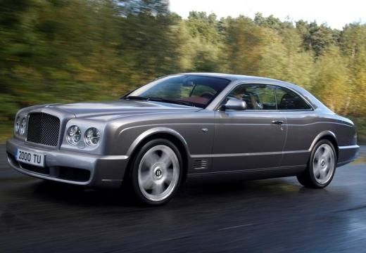 BENTLEY Brooklands coupe silver grey przedni lewy
