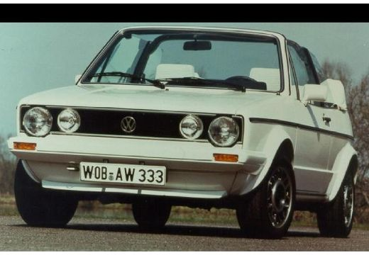 VOLKSWAGEN Golf kabriolet biały przedni lewy
