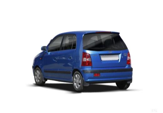 HYUNDAI Atos Prime III hatchback niebieski jasny tylny lewy